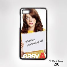 Easy A Cute pose for Blackberry Z10/Q10 cases
