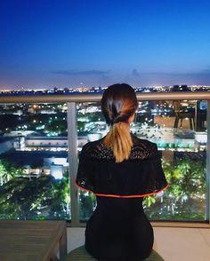 Miami By Night  Ainda de ontem admirando essa cidade que sou apaixonada  #aboutlastnight #ootn @strass_oficial