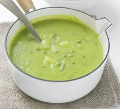 Minty Pea & Potato Soup Recipe on Yummly. @yummly #recipe