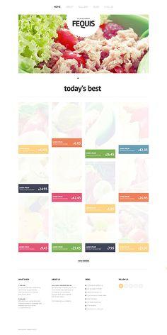 Website Template #webdesign #templates