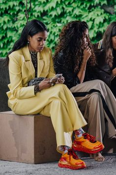 The Best Street Style From Mercedes Benz Fashion Week Tbilisi Best Street Style, Cool Street Fashion, Street Style Looks, Street Chic, Street Wear, Fashion Killa, Girl Fashion, Fashion Outfits, Fashion Trends