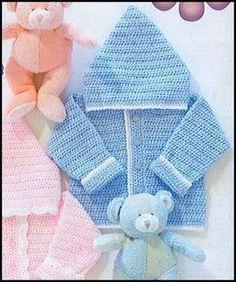 24 Ideas crochet baby boy sweater free for 2019 Gilet Crochet, Crochet Cardigan Pattern, Crochet Jacket, Sweater Patterns, Baby Boy Cardigan, Cardigan Bebe, Sweater Jacket, Hooded Sweater, Hooded Jacket