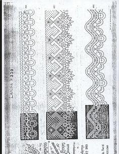 Punto de encuentro de encajeras (pág. 158) | Aprender manualidades es facilisimo.com Thread Crochet, Knit Or Crochet, Crochet Stitches, Bobbin Lace Patterns, Embroidery Patterns, Bobbin Lacemaking, Types Of Lace, Lace Painting, Crochet Dollies