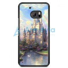 Disney Beauty And The Beast Stained Glass Rose HTC One M10 Case | armeyla.com