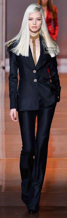 Versace Fall 2014 - Sasha Luss