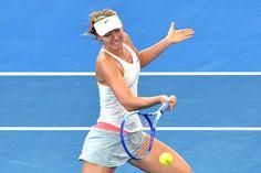 Maria Sharapova Brisbane International: Day 5
