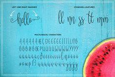 Melonade Script Fuentes