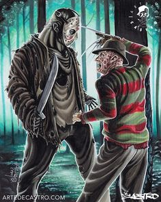 Freddy Krueger vs.Jason Voorhees......