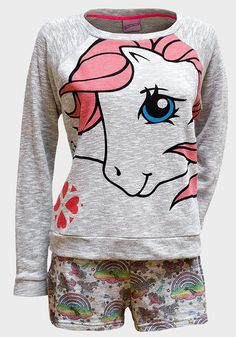 Little pony #pajama My Little Pony Clothes, My Little Pony Pajamas, Kawaii Clothes, Pajama Shorts, Kids Fashion, Womens Fashion, Pink Hair, Pyjamas, Pajama Set