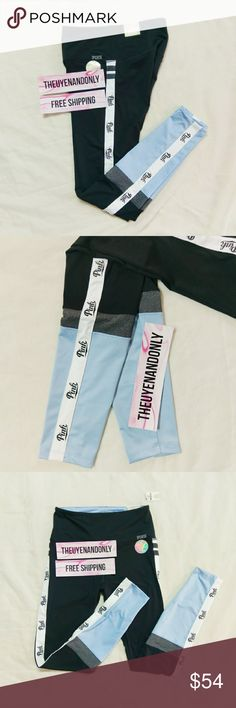 PINK Victoria's Secret Ultimate Leggings NWT - Not Accepting Offer NO TRADE I can do FREESHIP - please comment PINK Victoria's Secret Pants Leggings