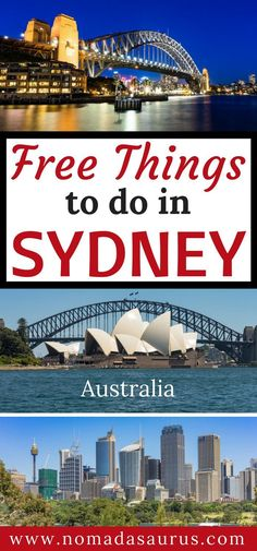 Here is a list of 15 free things to do in Sydney. Sydney should be on everyone's list of places to visit in Australia. It is a happening city with so much to do. You will never be bored and it is all free.