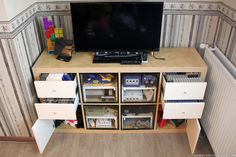 How to make an EXPEDIT retro gaming cabinet - IKEA Hackers