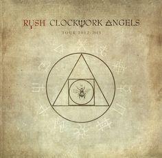 Rush Clockwork Angels Tour Book
