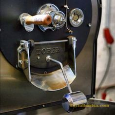 Toper roastmachine detail