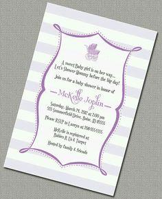 Invitacion lila
