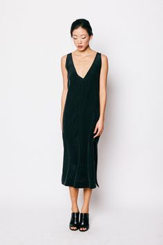 Vera Slip Dress by Elizabeth Suzann. On my Christmas wish list!