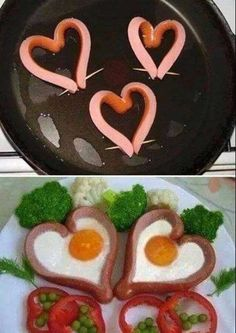 Sausage & egg - kids will love