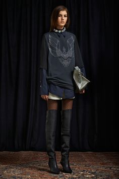 I am OBSESSED with this whole look! Obsessed! 3.1 Phillip Lim Pre-Fall 2013