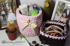 Доступны для заказа в любых цветах.  #вязание #вязаниекрючком #вязанныесумки #сумки #вединственномэкземпляре #своимируками #аксессуарыручнойработы #вяжутнетолькобабушки #вяжетнетолькохурма #ступино #хобби #люблювязать #knitting #handmade #myhobby #hobby #lentaknit #stupino #karina_mavrina_корзины