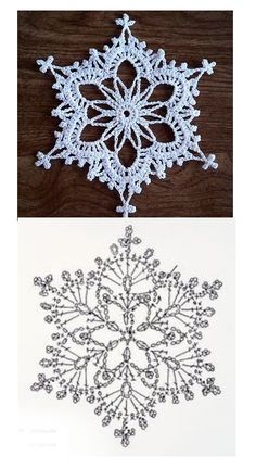 Crochet Stars, Crochet Snowflakes, Crochet Christmas, Gourds, Doilies, Crocheting, Coasters, Crafty, Knitting