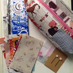 Package for my #sewingsummit secret swap partner!  #crossingthingsoffthegianttodolist