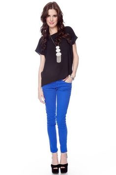 blue pants OP: want-this-in-my-wardrobe o.O