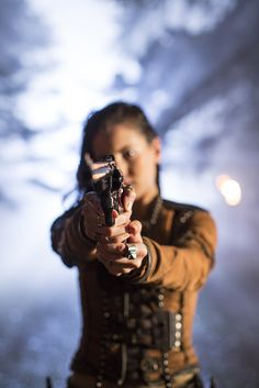Eretria (Ivana Barquero) and an Old World Weapon
