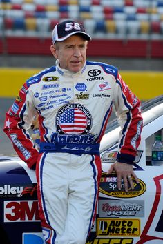 "NASCAR driver ""Mark Martin"" of Batesville, Arkansas."