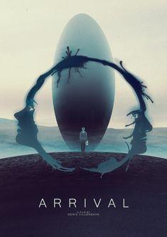 Best Movie Posters, Movie Poster Art, Film Posters, Premier Contact Film, Arrival Movie, Joseph, Sience Fiction, Roman, Denis Villeneuve