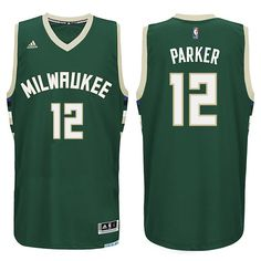 50183fe37 Jabari Parker Jersey is the 2016 Milwaukee Bucks  12 Away Green Swingman Basketball  Jersey.
