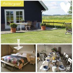 Adresje van de week: B Poldergoed Een prachtige accommodatie voor max 6 personen en een originele vergaderlocatie!