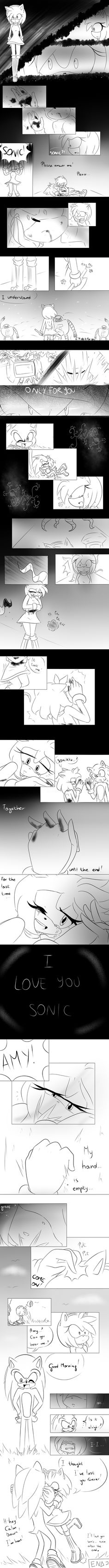 .::sonamy-comic::. until the end (apocalypse ? ) by JustSmileWithMe