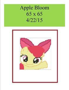 (4) Name: 'Crocheting : Apple Bloom 65 x 65