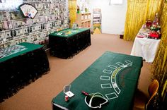 a. party style: lucky number seven :: casino party... Joe would one 3 X 6 table…