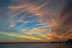 Sunset Bogue Sound
