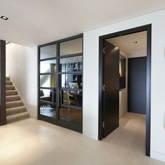 Entrance with Bod'or KTM doors - Design by Eric Kuster - Residential - Doors: Christian - George Style At Home, Interior Architecture, Interior And Exterior, Property Design, Interior Decorating, Interior Design, Internal Doors, Luxury Living, Interior Inspiration