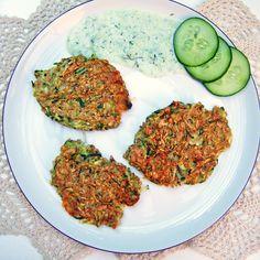 Blog kulinarny - Dietetyczne przepisy - Placki z cukinią