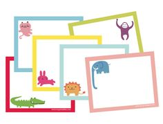 Cute free printables for kids