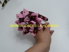 Diy Diademas decorada con flores fáciles, Como forrar diademas con cinta - YouTube