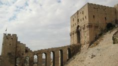 Saladin Conquest. The Citadel of Aleppo. Really outstanding piece of fortress + castle !!!