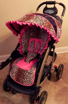 Custom Boutique Stroller Seat Cover and Canopy by smallsproutsbaby, $139.00. Will someone just make this for me? [:
