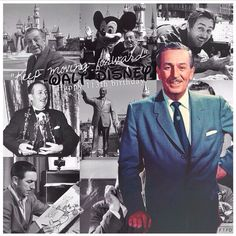 Walt Disney montage