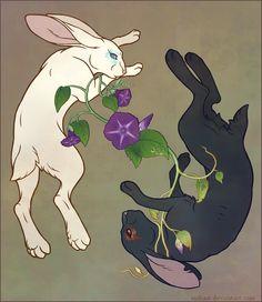 Off-White Hare Spirits by ~sinbast on deviantART
