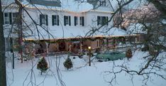 christmas inheritance inn - Google Search Christmas Wedding, My Dream, Colonial, Craftsman, Fields, House Ideas, Farmhouse, Mansions, Google Search