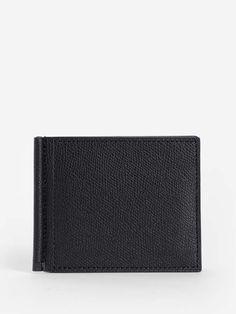 df504a94ed9f Prada Portaf. Orizzontale Vitello Micro Grain Nero Black Mens Wallet ...