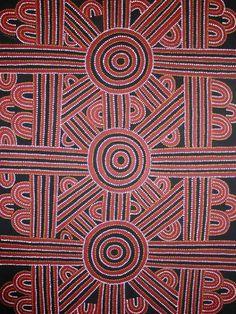 Dave Ross PWERLE_Songlines #aboriginal #aborigene #contemporain