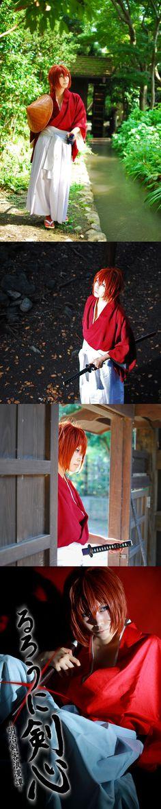 Series: Rurouni Kenshin/Samurai X |  Character: Himura Kenshin | 2012 http://worldcosplay.net/photo/539023/