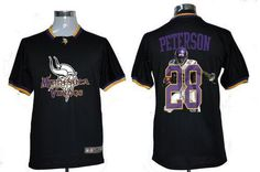2caf3e27c9d Nike Minnesota Vikings 28 Adrian Peterson Team ALL-Star Fashion Jerseys. Nfl  ShopNfl ...