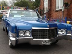1970 Cadillac Coupe DeVille Convertible