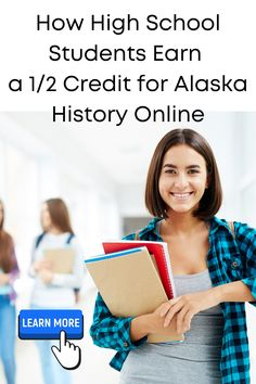 High school students can now earn 1/2 credit for Alaska state history with this fun online course. Each daily lesson is filled with links to more information, videos and documentaries for further understanding of the topic. This course features word puzzles, timeline and map activities, and journaling opportunities, too. Click on this pin to learn more. #homeschoolcourse #alaskahistory